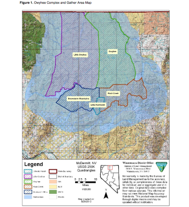 BLM map of the Owyhee Complex