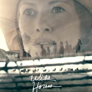 """Poster for film """"Wild Horses"""""""