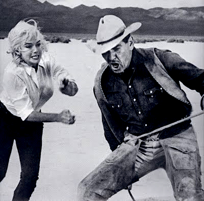 "Screengrab of movie ""The Misfits"""